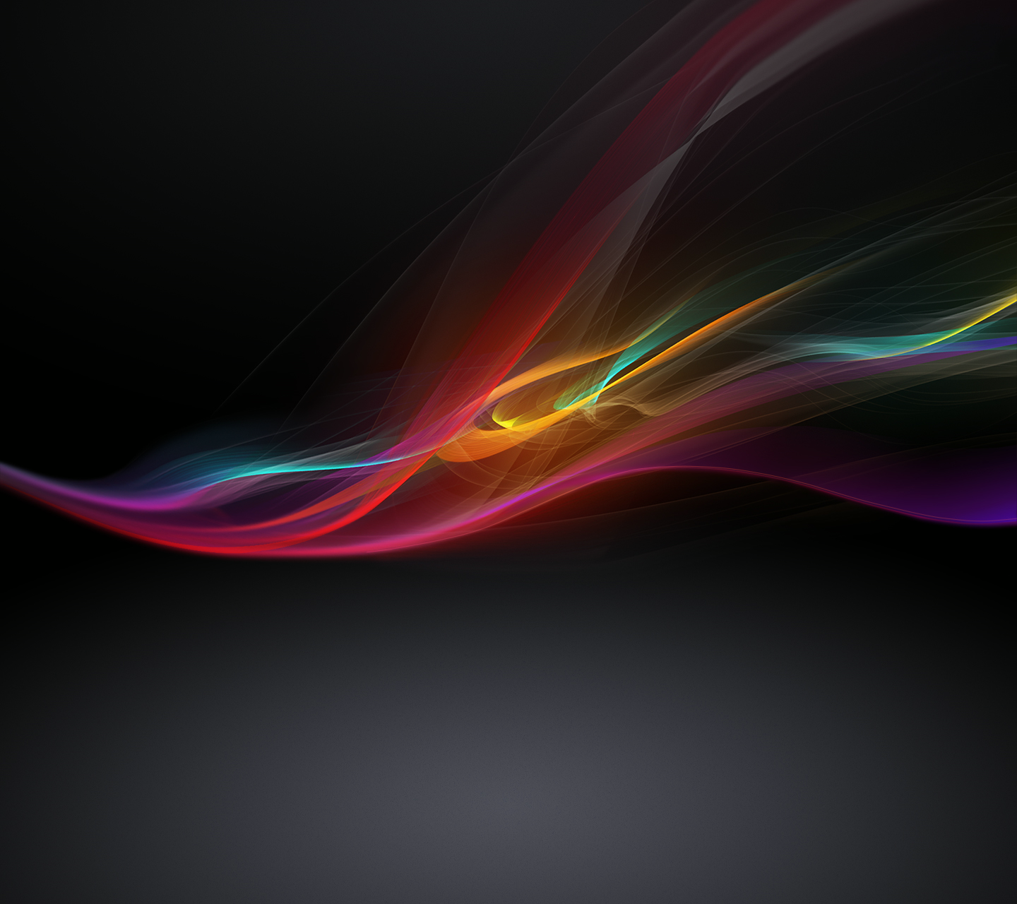 Black Xperia Z Wallpaper