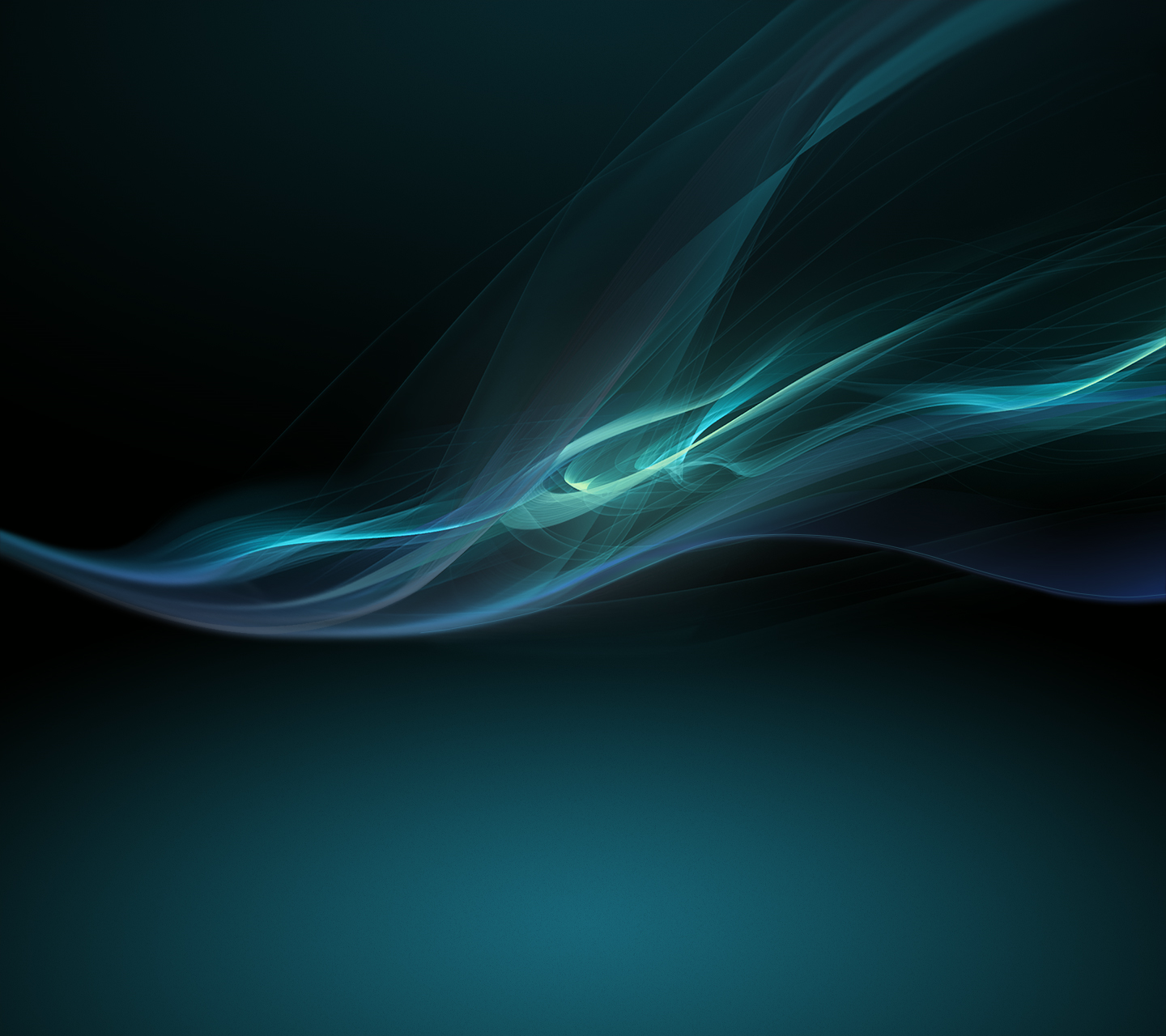 Blue Xperia Z Wallpaper