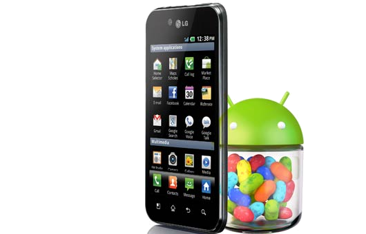 Jelly Bean ROM on LG Optimus Black P970
