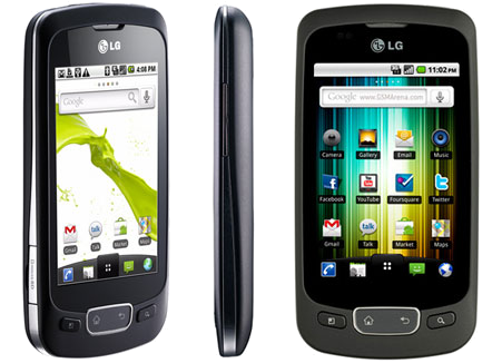 LG Optimus One P500