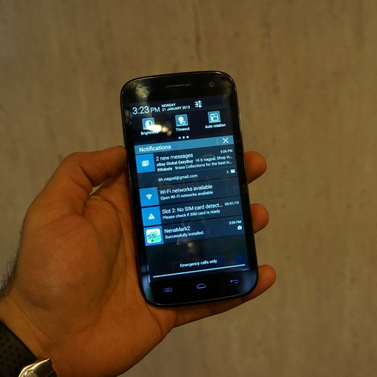 Micromax A116 Canvas HD Hands-On