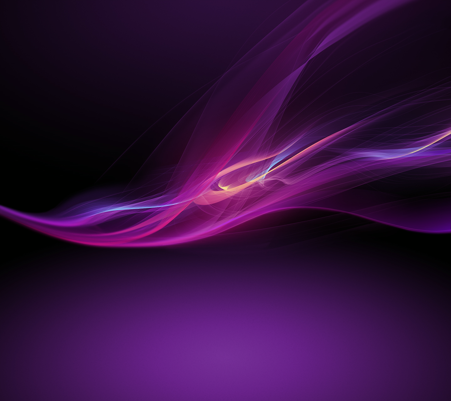 Purple Xperia Z Wallpaper