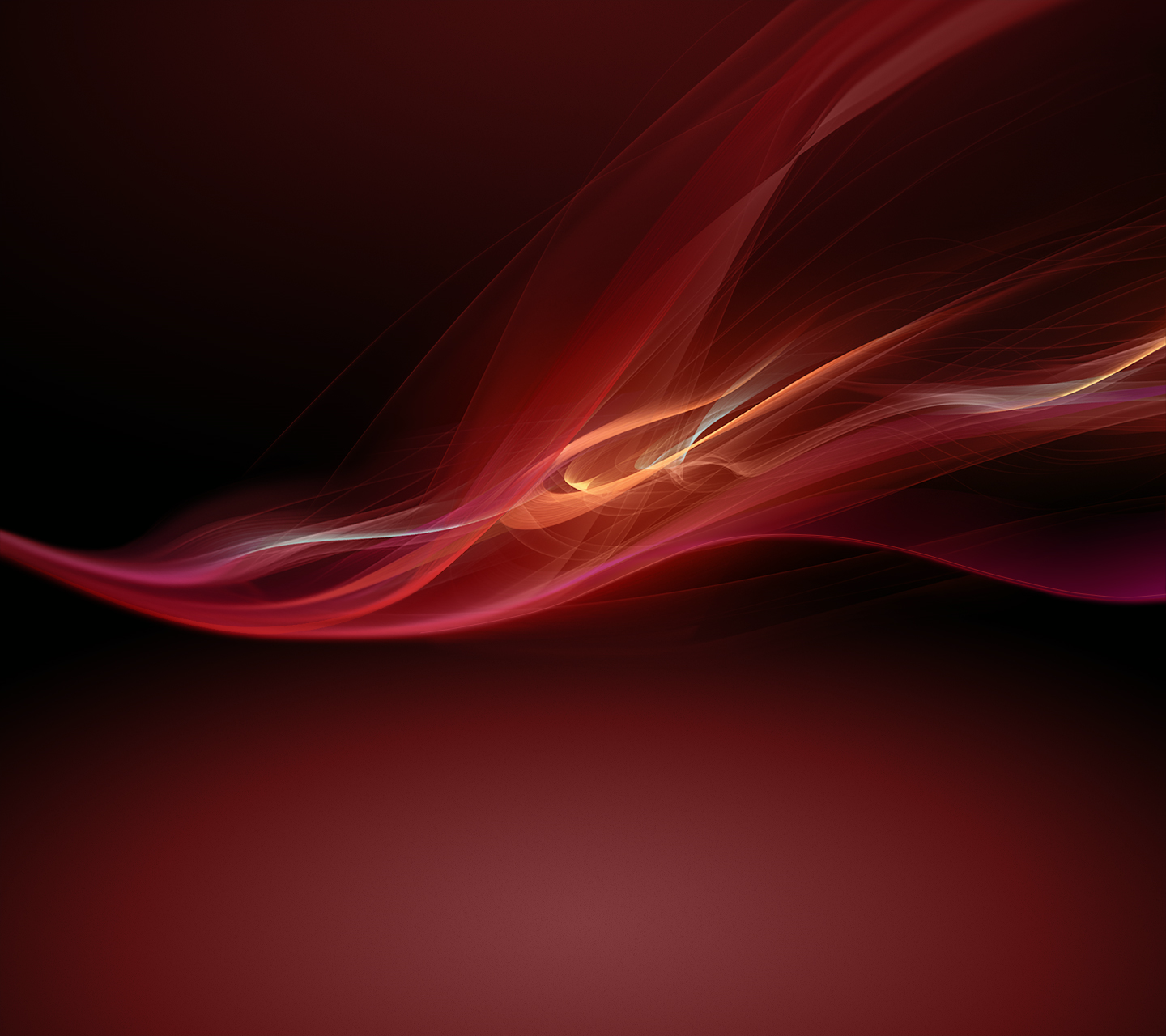 Red Xperia Z Wallpaper
