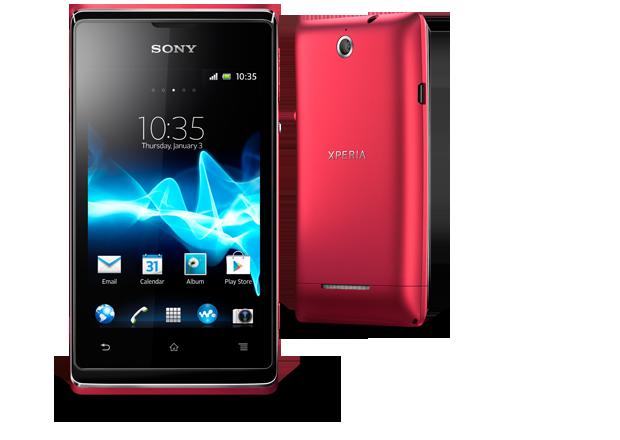 Sony Xperia E Pink
