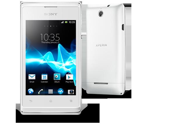 Sony Xperia E White
