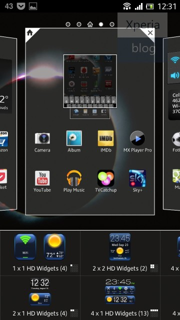 Sony Xperia™ Home Launcher