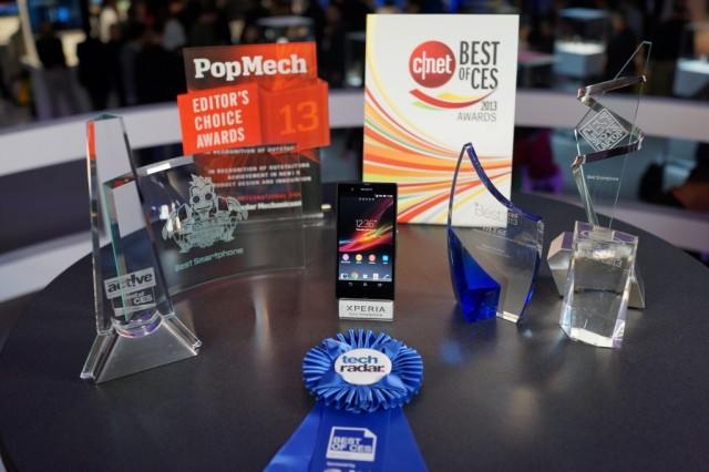 Awards Won by Sony Xperia Z