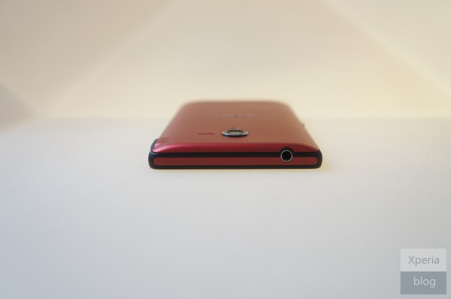 Sony Xperia ZL Red Spotted